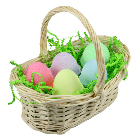 Easter Egg Bath Bomb Gift Basket - Fortune Cookie Soap - 1