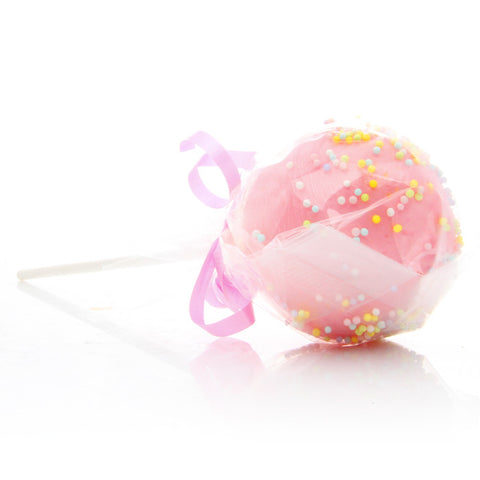 Bunny Balls Cake Pop Bath Bomb - Fortune Cookie Soap
