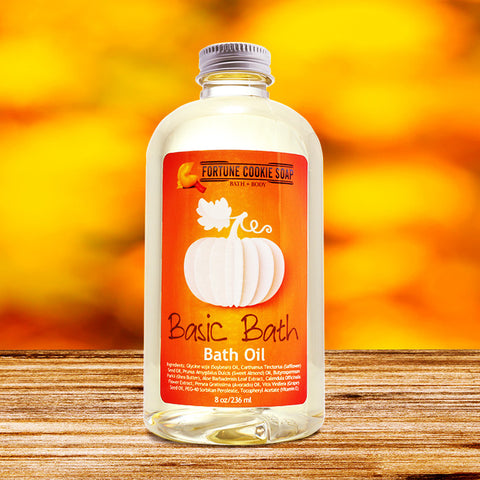 BASIC BATH Bath Oil - Fortune Cookie Soap