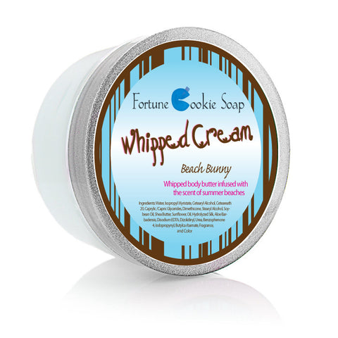 Beach Bunny Body Butter 5.5oz. - Fortune Cookie Soap