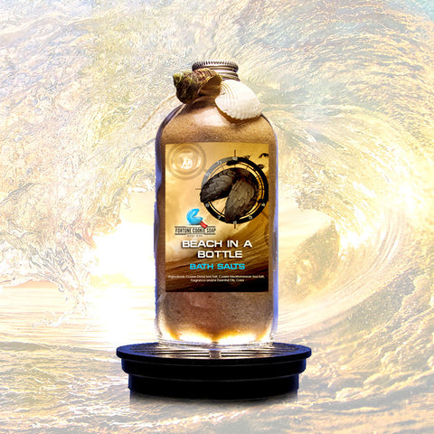 Beach in a Bottle Bath Salts - Fortune Cookie Soap - 1