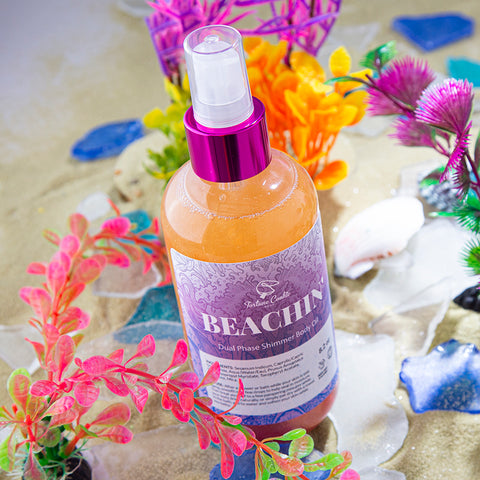 BEACHIN' Dual Phase Shimmer Body Oil