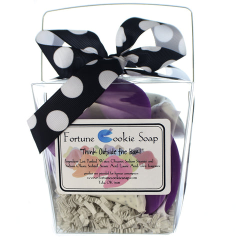 Pardon My French Bath Gift Set - Fortune Cookie Soap - 1
