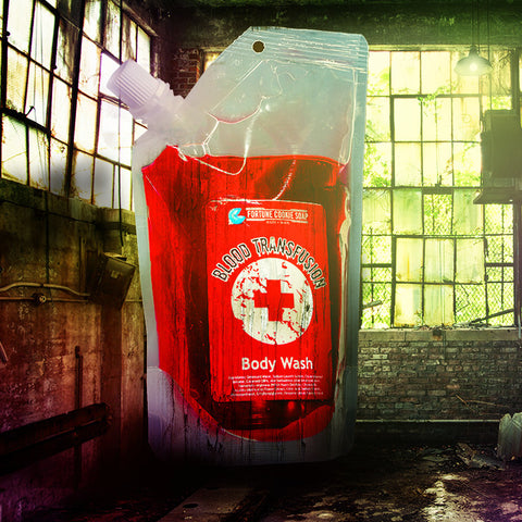 BLOOD TRANSFUSION Body Wash - Fortune Cookie Soap