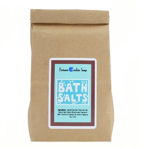Fortunate Sun Bath Salt Brown Bag - Fortune Cookie Soap