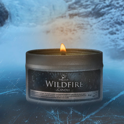 WILDFIRE Hand Poured Soy Candle