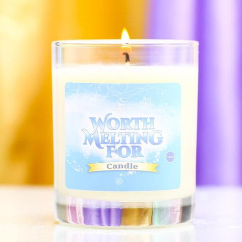WORTH MELTING FOR Hand Poured Soy Candle