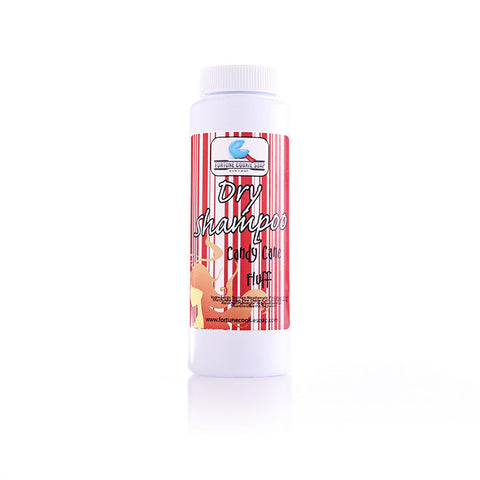 Candy Cane Fluff Dry Shampoo - Fortune Cookie Soap