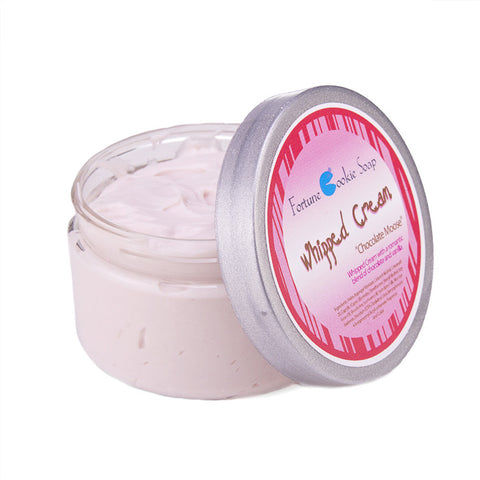 Chocolate Dipped Strawberry Moose Body Butter (5. oz) - Fortune Cookie Soap