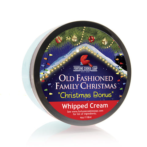 Christmas Bonus Whipped Cream - Fortune Cookie Soap