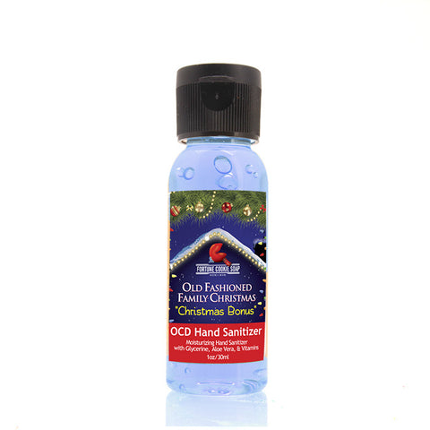 Christmas Bonus OCD Hand Sanitizer - Fortune Cookie Soap - 1