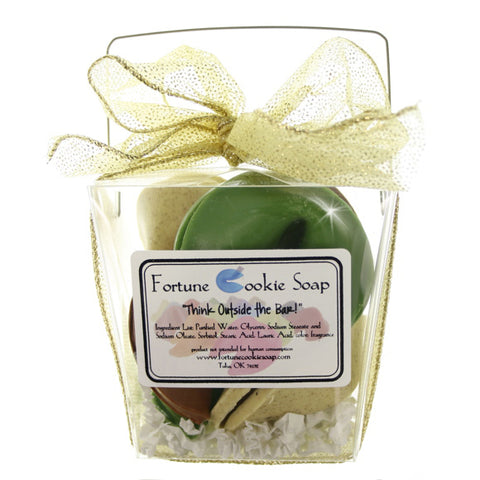 King Midas Bath Gift Set - Fortune Cookie Soap - 1