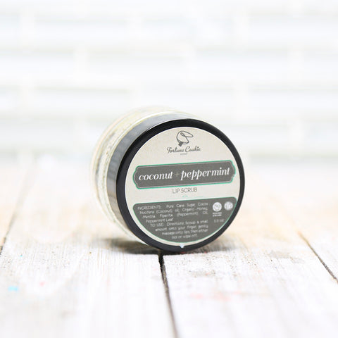 COCONUT + PEPPERMINT Lip Scrub