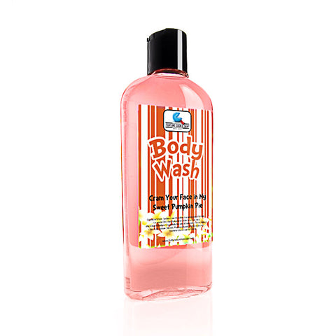 Cram your face in my Sweet Pumpkin Pie Body Wash - Fortune Cookie Soap