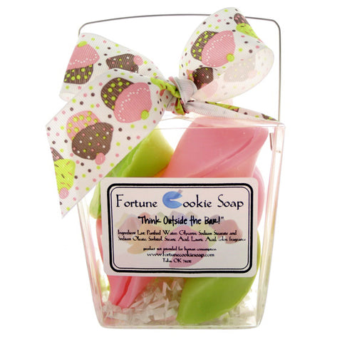 Icing on the Cake Bath Gift Set - Fortune Cookie Soap