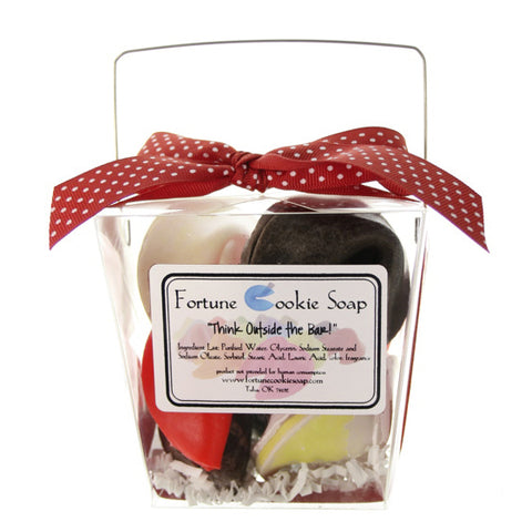 Date Night Bath Gift Set - Fortune Cookie Soap - 1