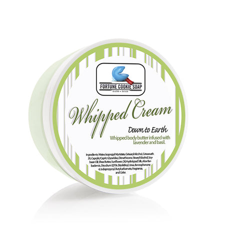 Down To Earth Body Butter 5oz. - Fortune Cookie Soap