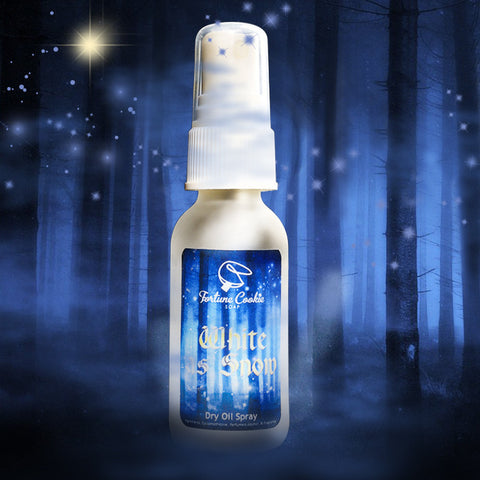 WHITE AS SNOW Dry Oil Spray - Fortune Cookie Soap