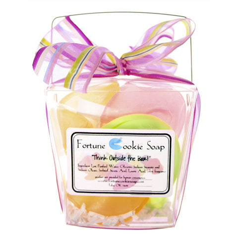 First Crush Bath Gift Set - Fortune Cookie Soap - 1