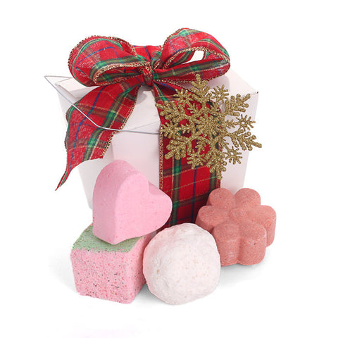 Fizz the Season Gift Basket - Fortune Cookie Soap