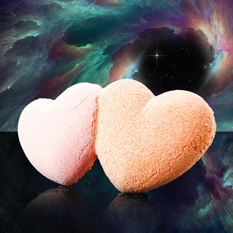CROSS MY HEARTS Bath Bomb - Fortune Cookie Soap