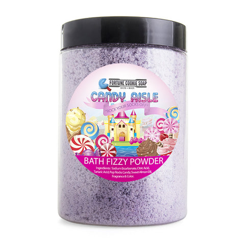 Rock Your Socks Off Bath Bomb Fizzing Powder - Fortune Cookie Soap