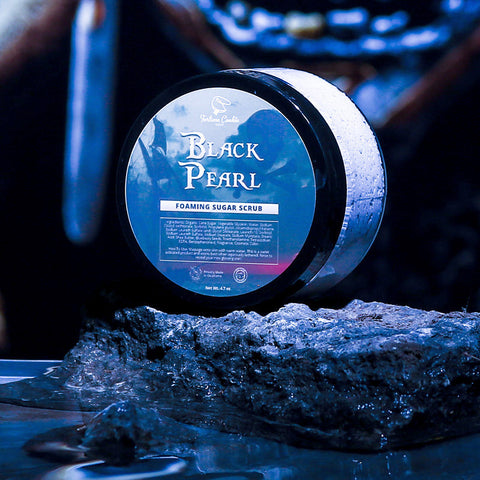 BLACK PEARL Foaming Sugar Scrub