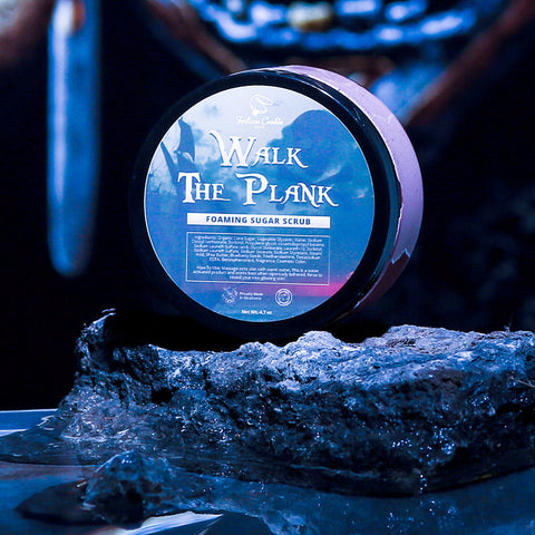 WALK THE PLANK Foaming Sugar Scrub
