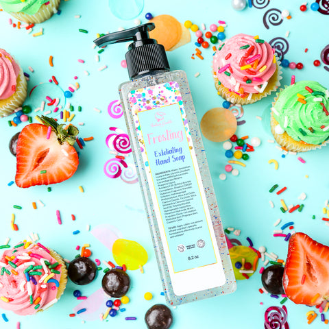 FROSTING Exfoliating Hand Soap