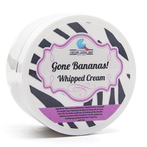 Gone Bananas! Whipped Cream - Fortune Cookie Soap