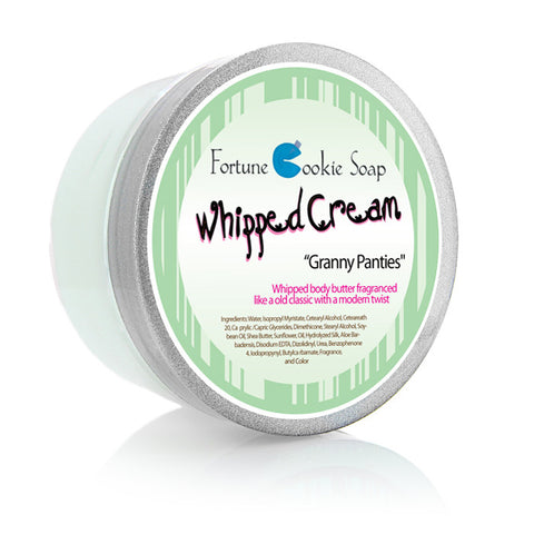 Granny Panties Body Butter - Fortune Cookie Soap