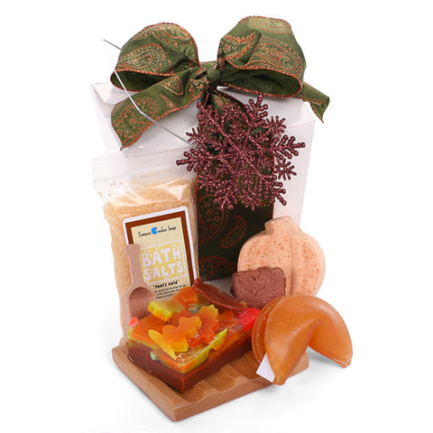 Home for the Holidays Gift Basket - Fortune Cookie Soap