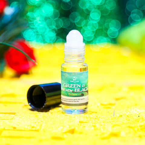 GREEN IS THE NEW BLACK Perfume Oil