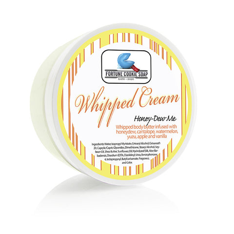 Honey-Dew Me Body Butter 5oz. - Fortune Cookie Soap