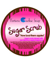 How 'Bout Them Apples? Sugar Scrub - Fortune Cookie Soap