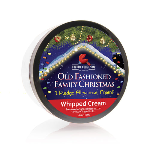 I Pledge Allegiance, Amen! Whipped Cream - Fortune Cookie Soap