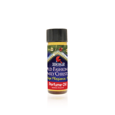 I Pledge Allegiance, Amen! Perfume Oil - Fortune Cookie Soap