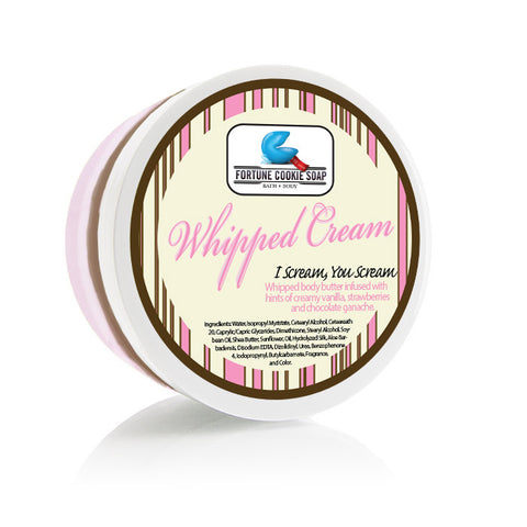 I Scream, You Scream Body Butter - Fortune Cookie Soap