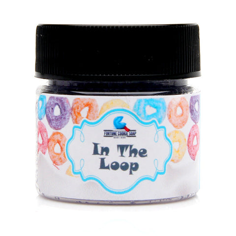 """In The Loop"" Talkin' Smack Lip Scrub - Fortune Cookie Soap"