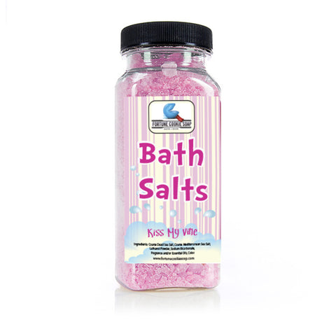Kiss My Vine Bath Salts 11 oz. - Fortune Cookie Soap