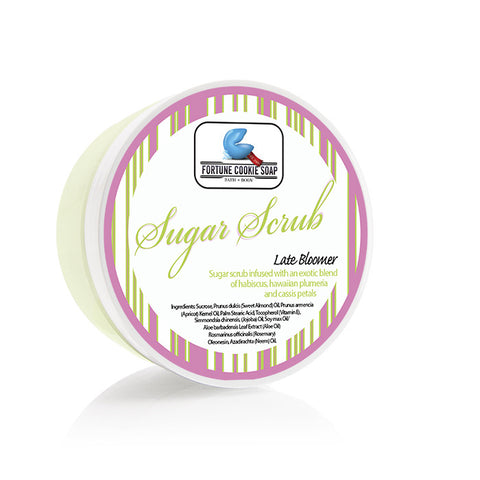 Late Bloomer Sugar Scrub 5oz. - Fortune Cookie Soap