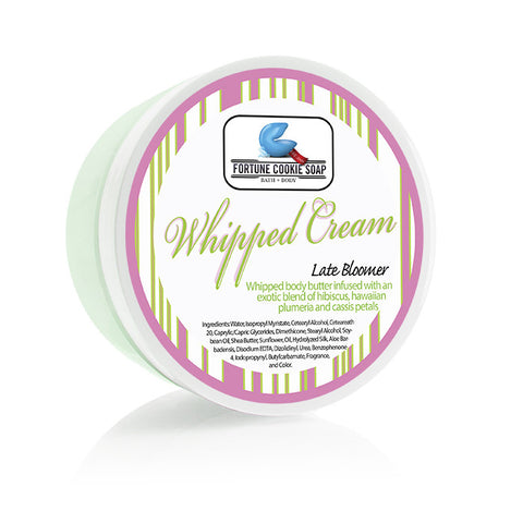 Late Bloomer Body Butter 5oz. - Fortune Cookie Soap