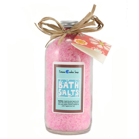 Lava Rox Bath Salt Gift - Fortune Cookie Soap