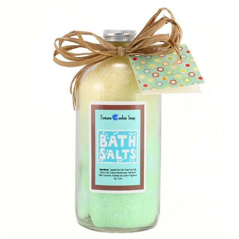 Electric Avenue Bath Salt Gift - Fortune Cookie Soap