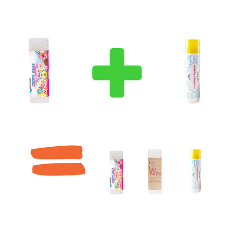 "BUY 2 GET 1 FREE ""Lip Balm"" - Fortune Cookie Soap"