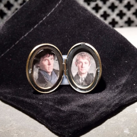 Johnlock Locket - Fortune Cookie Soap - 2