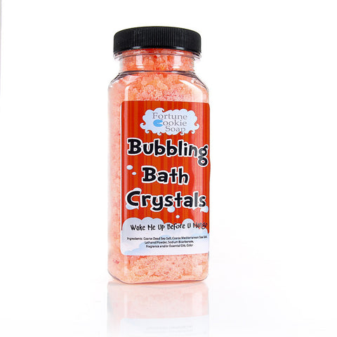 Wake Me Up Before You Mango Bubbling Bath Crystals11 oz. - Fortune Cookie Soap
