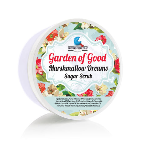 Marshmallow Dreams Sugar Scrub - Fortune Cookie Soap