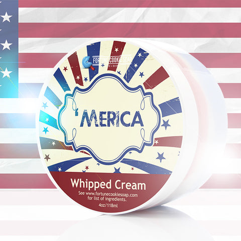 'MERICA Whipped Cream - Fortune Cookie Soap