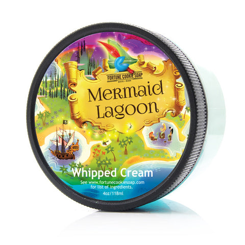 MERMAID LAGOON Whipped Cream - Fortune Cookie Soap